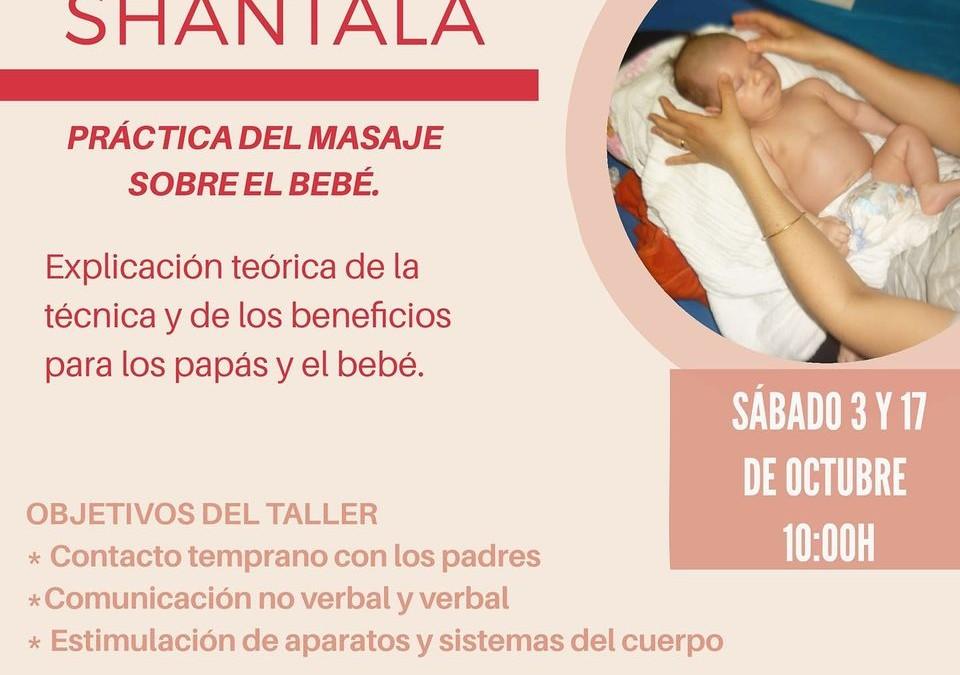 Taller de masaje infantil SHANTALA